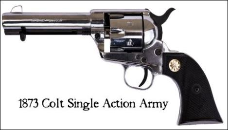 1873 Colt Single Action Army (SAA) Revolver
